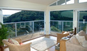 Glass Balustrade - Paul & Brenda Reach, Dartmouth