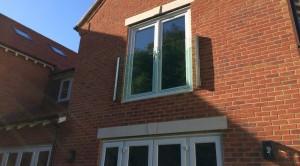 Frameless Glass Balcony in Oxford