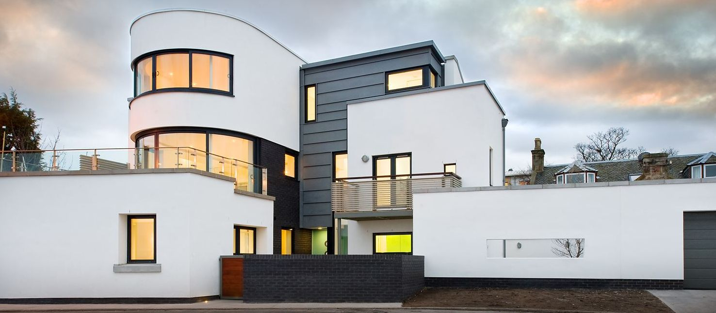 Curved Glass Doors and Windows in Scotland
