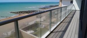 Glazed Balcony Railing