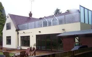 Glass Terrace Design