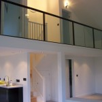 A 'Mezzanine' Glass Balustrade by Balcony Systems