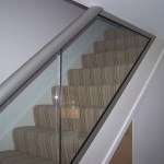 A Staircase Glass Balustrade by Balcony Systems