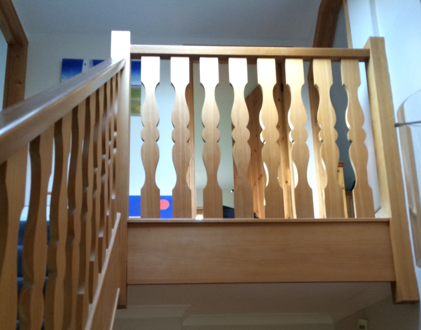 Traditional Internal Balustrade