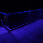Decorated Glass Balustrade