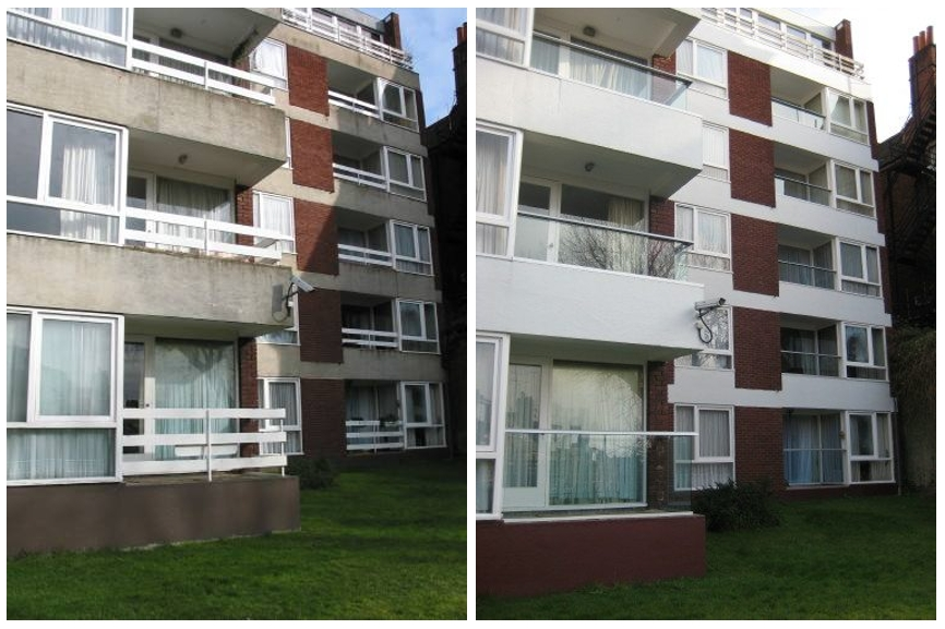 retrofitting balconies before and after