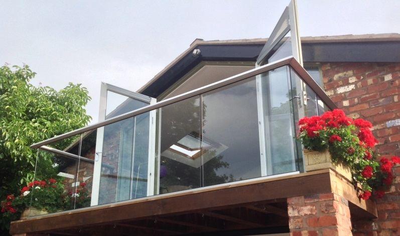 retrofitting glass balconies