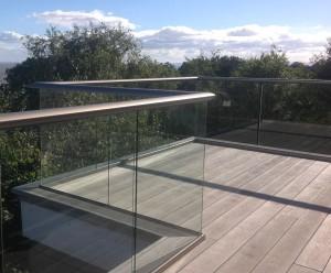Golden Oak Composite Decking