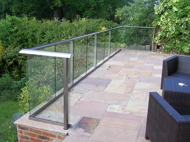Glass Balcony Aerofoil System