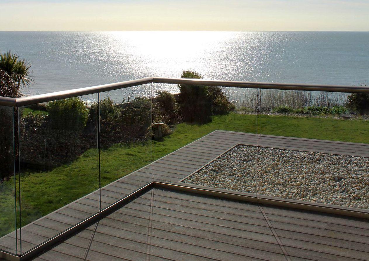 Glass Balustrade Seaside