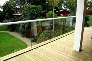 Structural Glass Balustrades Project in Jersey
