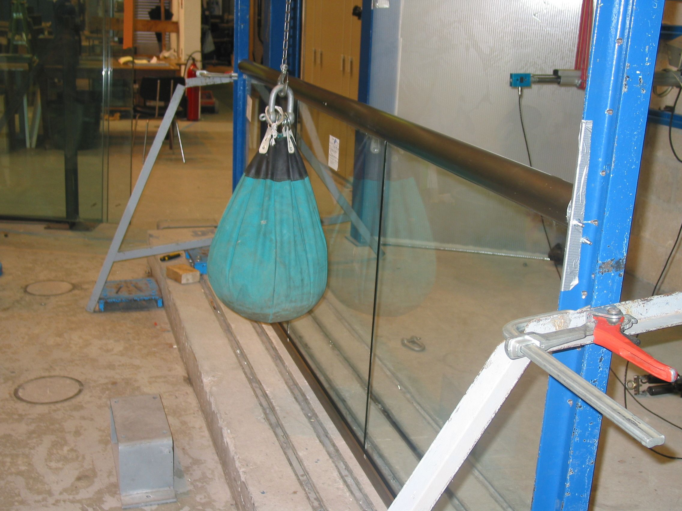 Inpact Testing on Glass and Balustrade