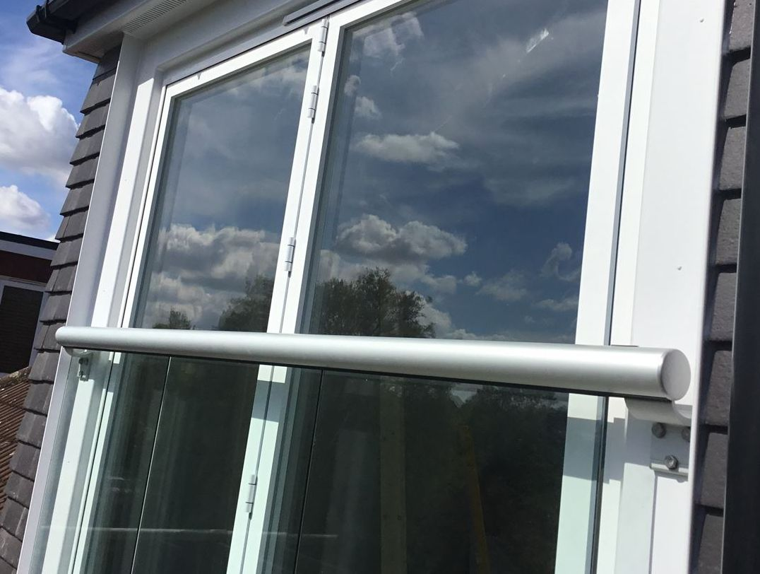 Glass Juliet Balcony in Hornchurch
