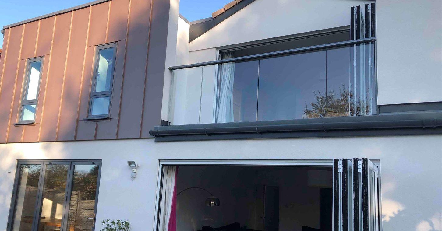 Glass Balustrade in Bristol
