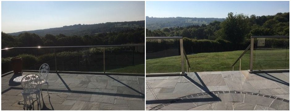 Glass Balcony in Sussex