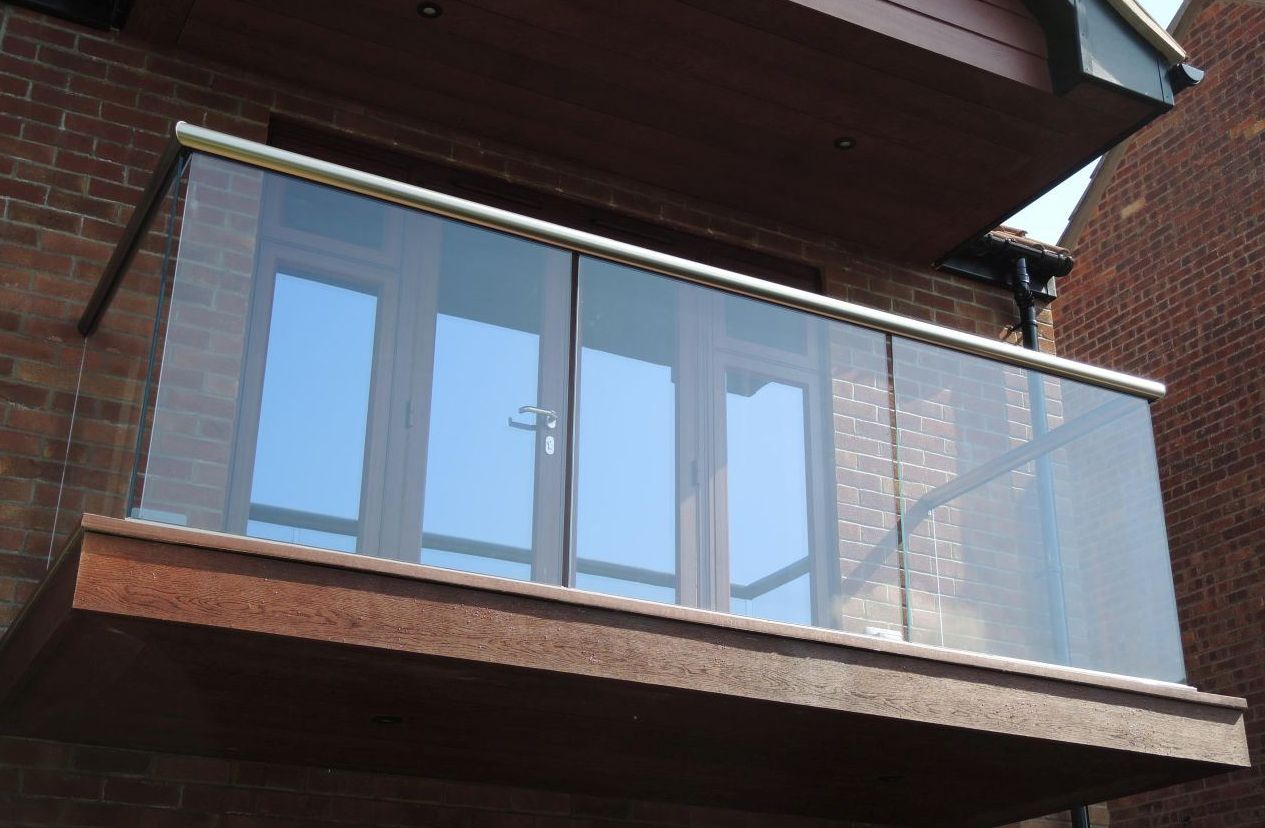 Glass Balustrade in Essex