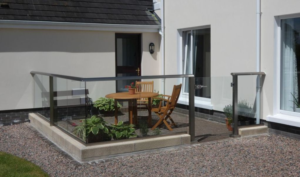Glass Balustrades in Ireland