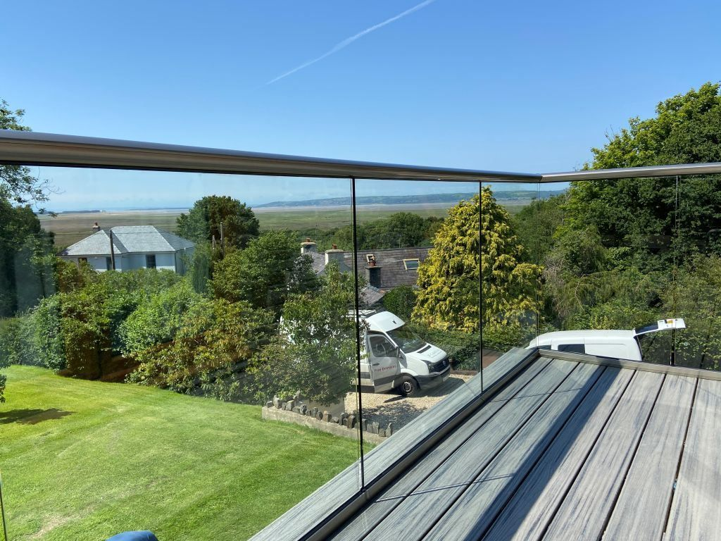 Aerofoil Glass Balustrades