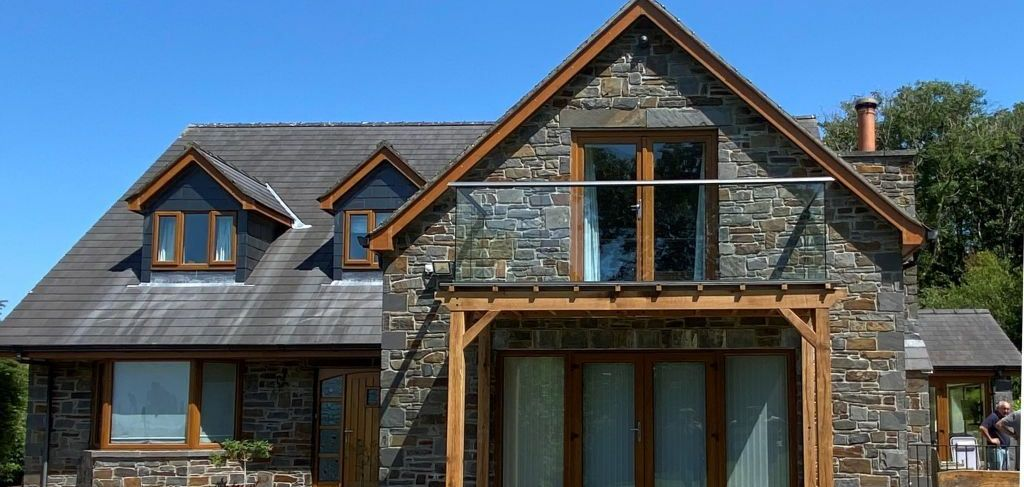 Glass Balustrades in Wales
