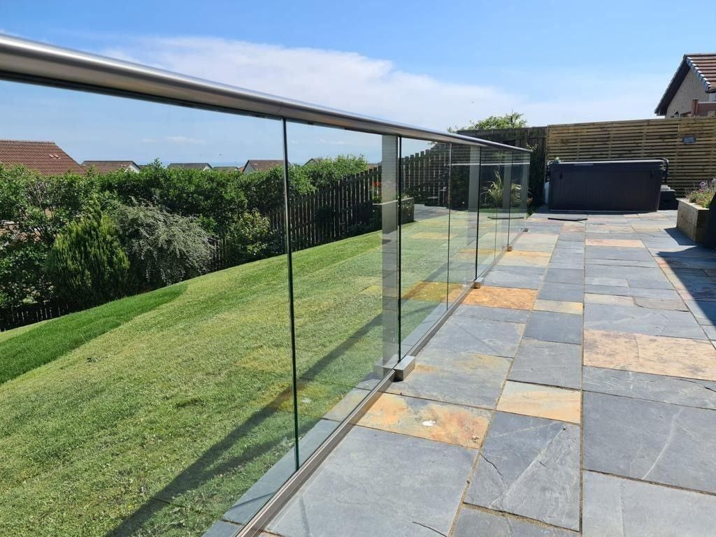 Patio Glass Balustrade
