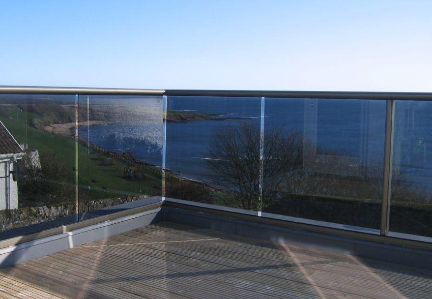 Tinted Glass Balustrades