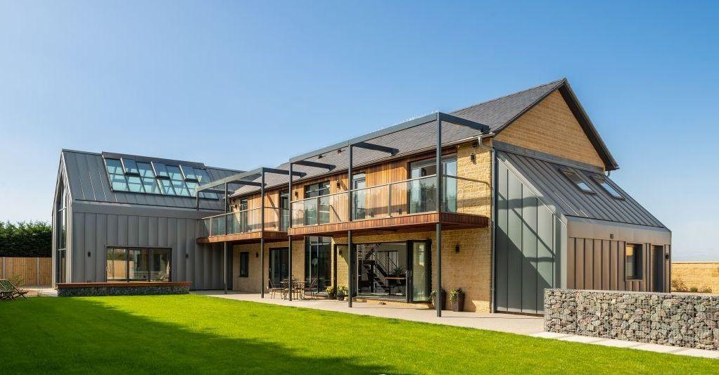 Aerofoil Glass Balustrade in Lincolnshire