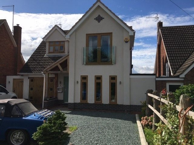 Frameless Juliet Balcony in Worcestershire