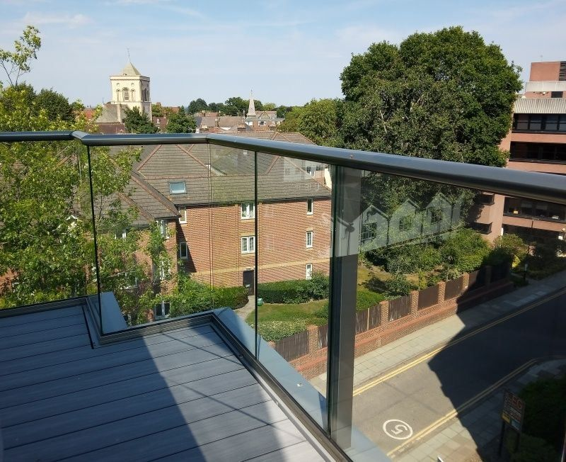 Glass Balustrade in East Grinstead Sussex