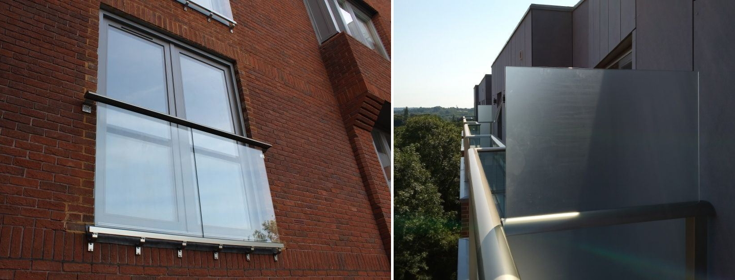 Privacy Screens and Juliet Balcony
