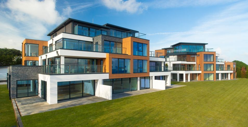 Curved doors and Orbit Glass Balustrades in East Kent