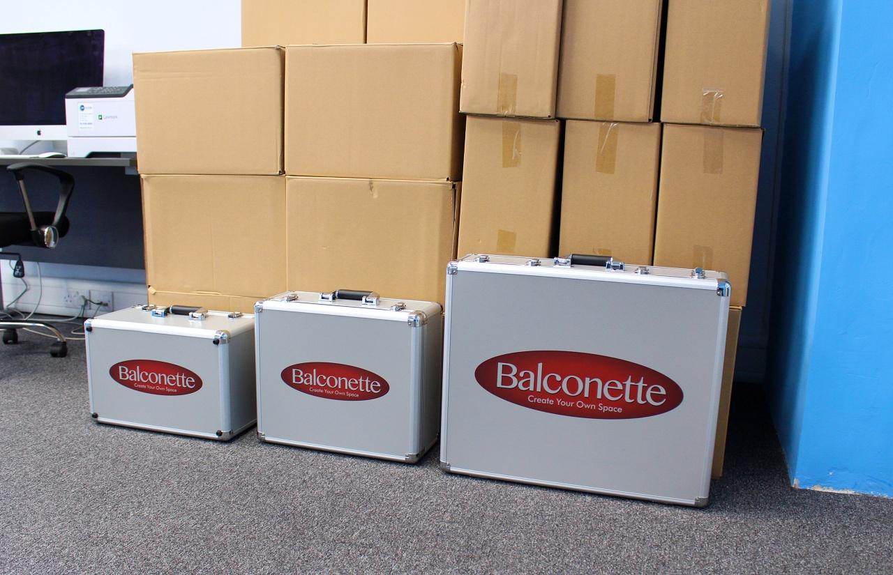 Balconette's New Product Sample Cases