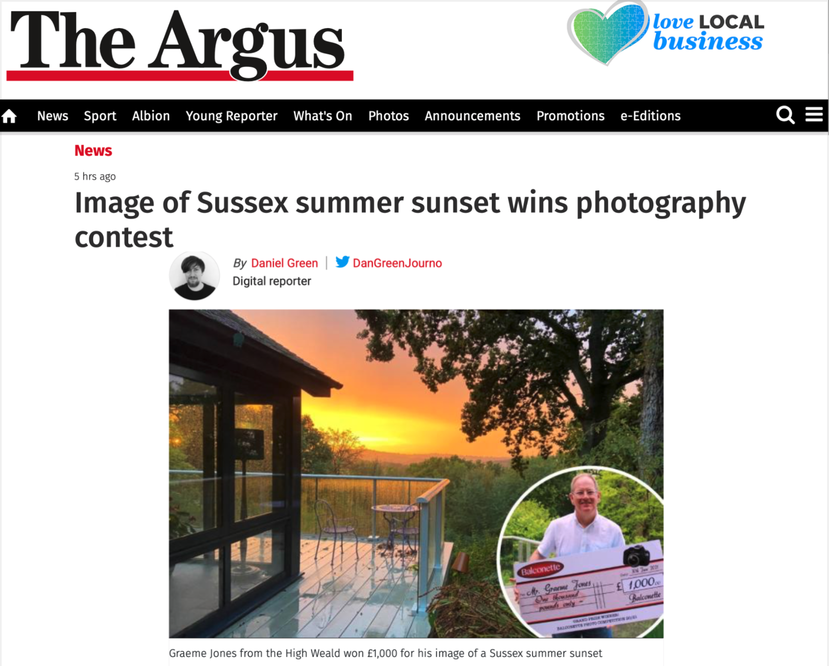 The Argus: Contest Winner
