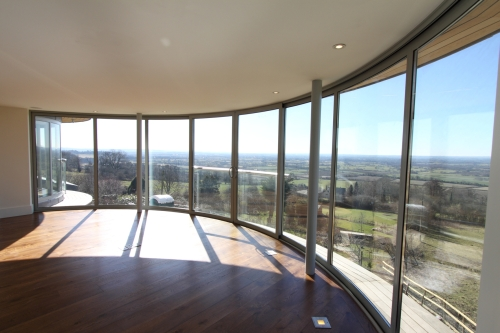 Curved Doors Balcony Systems