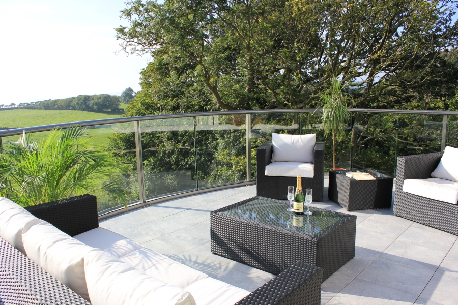Competition winner – Curved balcony from Silverdale, Lancashire