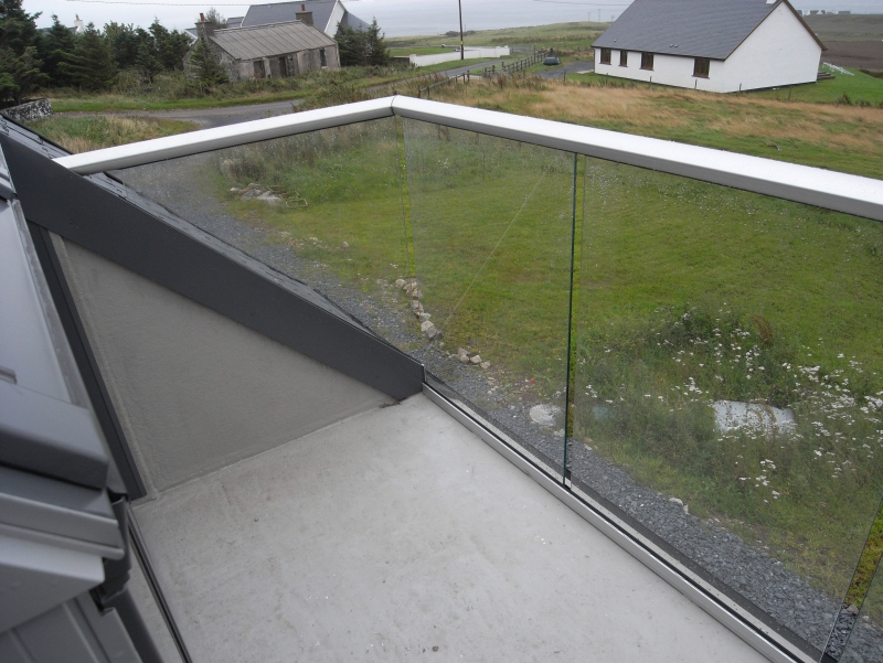 Glass Balustrade  Degree Fixings