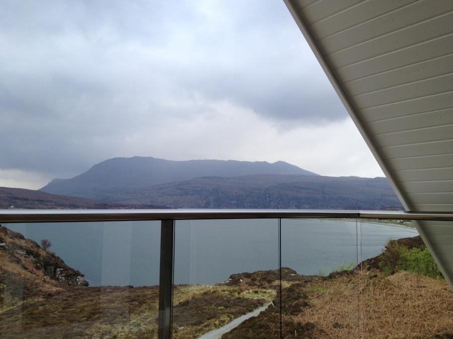 glass balustrades in Scotland