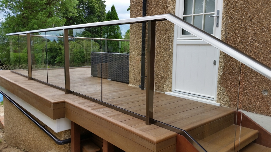 Glass Balustrade Decking Composite Decking Glass
