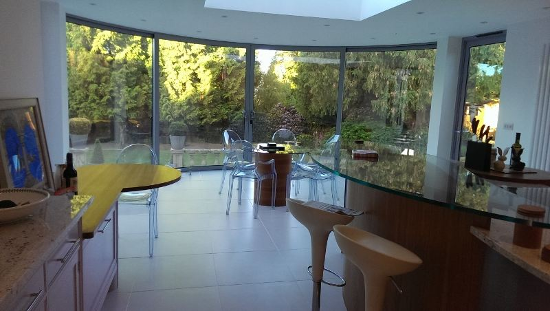Curved Glass Doors In Epping Forest Curved Sliding Patio Doors